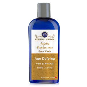 Age Defying Face Wash Bottle Label