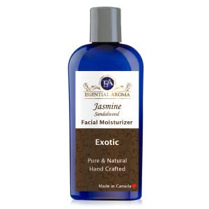 Jasmine Sandalwood Face Wash Bottle Label