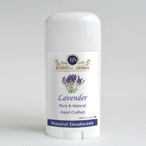 Lavender Deodorant - Bottle Label