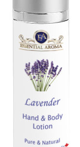 Lavender H&B Lotion Bottle Label