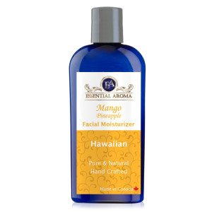 Mango Pineapple Face Wash Bottle Label