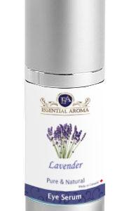 Eye Serum Bottle Label - Lavender - REVISED
