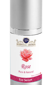 Eye Serum Bottle Label - Rose