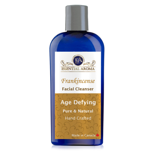 Frankincense Facial Cleanser Bottle Label