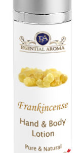 Frankincense H&B Lotion Bottle Label