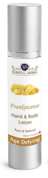 Frankincense H&B Lotion Bottle Label