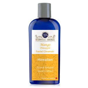 Mango Pineapple Facial Cleanser Bottle Label