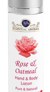 Rose H&B Lotion Bottle Label