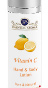 Vit C H&B Lotion Bottle Label