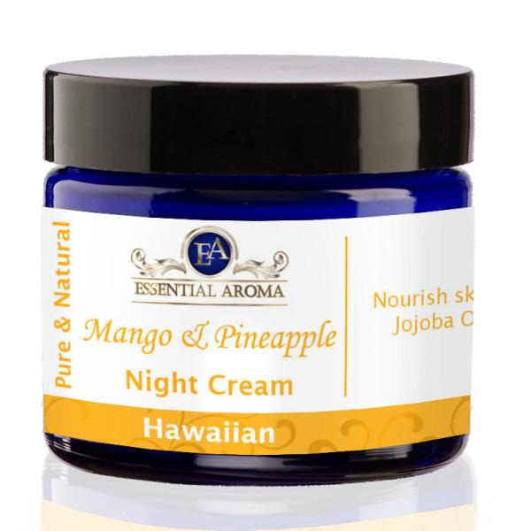 Mango Pineapple Nourishing Bottle Label