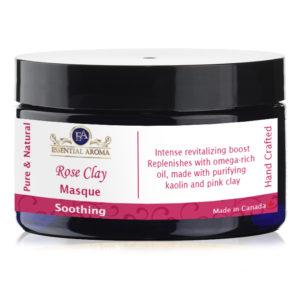 Rose Oatmeal Mask Bottle Label