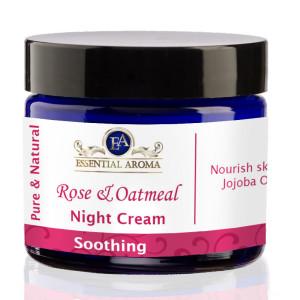 Rose Oatmeal Nourishing Bottle Label